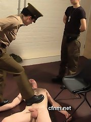 Man was captured and tormented