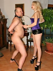 Male slave was punished