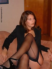 Worship nylon legs
