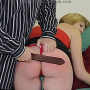 Milf was caned hard