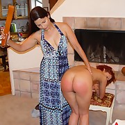 Handsome lass gets her buns spanked