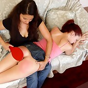 Young girl was spanked at home