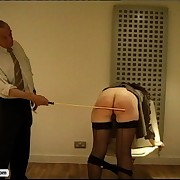 Make an issue of kingpin spanks his secretaries everywhere ass after she fucks up