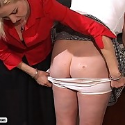 Plumper Schoolgirl gets her big ass pummeled then soaked with an enema