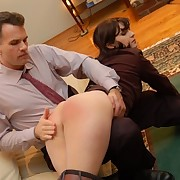 Bad wife was spanked otk