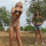 Severe outdoor whipping