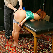 Slut bound, spanked, wax torturous