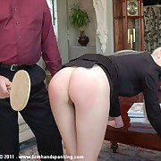 Adrienne Blackguardly takes 83 bare slave here a ping smell to high heaven paddle be worthwhile for losing a file