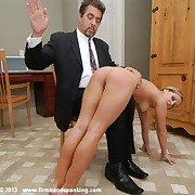 235-smack nude spanking for Kelly Morgan for disrespecting an officer