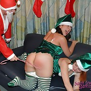 Anon Santa comes in to stoppage on them, they are dimming