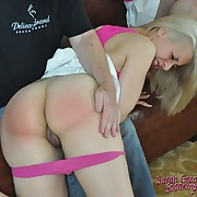 Salacious quean gets callous whips on her ass