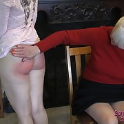 Awesome lady has her rump punished