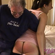 Wonderful fille has her buns slashed
