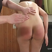 Dissolute girl gets vicious whips on her buttocks