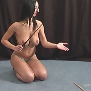 Murderous whipping for arch slut