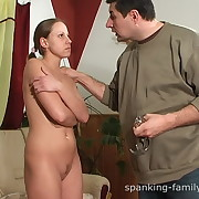Unveil pain in the neck spanking