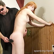 Dissolute Angie gets mercilles whips on her tush