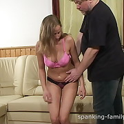 Fell punishment for puckish babe