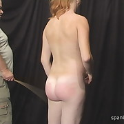 Charming maiden gets her butt lathered