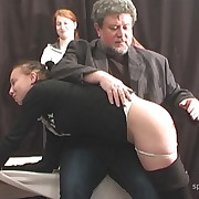Amazing peri gets her rear whipped