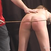 Dissolute broad gets pitiless whips on her bum