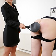 Mature spanked rough