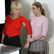 Submissive maiden was whipped by her mistress