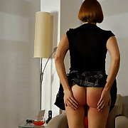 Lecherous quean has sadistic whips on her backside
