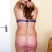 Voluptuous wench gets clipping spanks chiefly her glutes