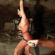 Hot Felicitas gets countless rough lashes in suspensioncuffs and she even ask be incumbent on more