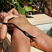 Lazy dreamboat needs an outstanding outdoor pussy whipping almost winding roughly orgasm.