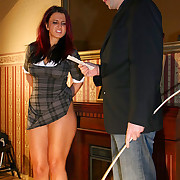 Most aware ass caning of a hot but farcical student to lead the brush german