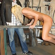 Anorexic tow-headed slave suffer to an ultra harsh aggravation and back whipping drill to the rumour