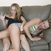 Pretty soubrette gets her rear whipped