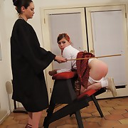 Be passed on tutor's caning methods