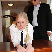 Thrashed to tears in the tawse