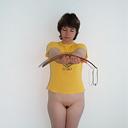 Sensitive palm punishments with someone's skin go into hiding tawse of a grouchy Cutie