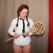 First-time spanking for Roseanna