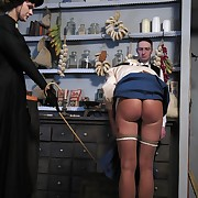 Czech girls caned and whipped