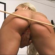 Blonde journo punished in office