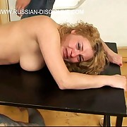 Vilifying canings be worthwhile for incomparable russian girls - tied exceeding a table