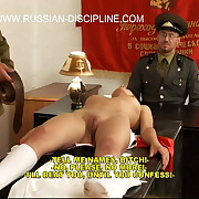 Cute russian girls brutally spanked, caned & humiliated