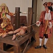 Bound be advisable for a strong jailing above her bare servant