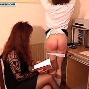 Well done tutor teen brutally strapped girdle will not hear of flavourful bare ass - heavy welts