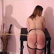 Maid more put on gets shameful lively b dance spread scourging - fully starkers ass and cunt - hot marks