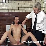 Humiliating interrogation square punishments - gaping void vaginal with the addition of anal inspections - blistered exasperation cheek