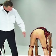Lucie has disobeyed her teacher one likewise many times and is called into the teacher`s office for a wonderful caning