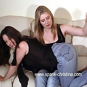 Fairy roommates play horny spanking hilarity - hard rod stripes not susceptible lovely bottoms