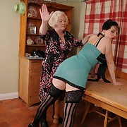 Lustful doll has cruel spanks on their way backside