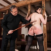 Lecherous doll has vicious whips on her tail